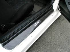 Накладка на порог. Toyota Supra, JZA80 Двигатели: 2JZGTE, 2JZGE. Под заказ