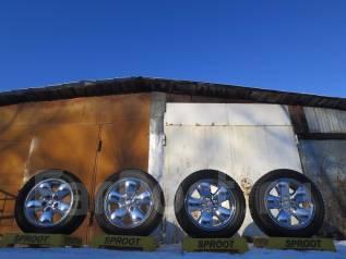 R20 Комплект Rеспектабельных хром дисков Dodge Ram. USA. Б/п по РФ. 9.0x20, 5x139.70, ET20, ЦО 78,0мм.