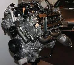Двигатель. Infiniti FX50, S51 Двигатель VK50VE