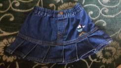 Платья джинсовые. Рост: 68-74, 74-80, 80-86 см