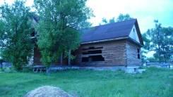Продам земельный участок с недостроенным домом в пгт Кавалерово. 1 500 кв.м., собственность, электричество, вода, от частного лица (собственник)