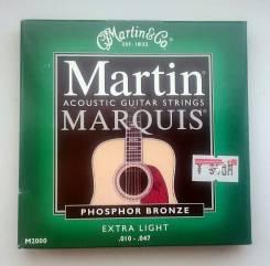 """Комплект струн """"Martin&Go"""", для 6-ти струнной гитары (из Японии)"""