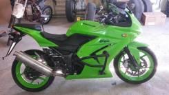 Kawasaki Ninja 250R. 250 куб. см., исправен, птс, с пробегом