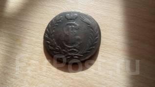 Сибирская монета. 2 копейки 1769 г.