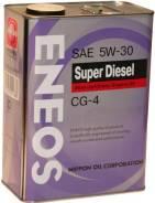 Eneos Super Diesel. Вязкость 5W-30, полусинтетическое