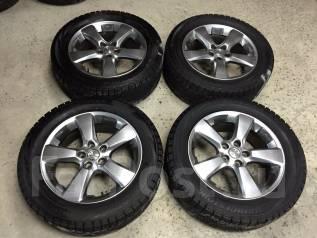 R18 диски Toyota + 235/55R18 протектор 95% (ЗИМА) №M-KO32.7. 7.0x18 5x114.30 ET35
