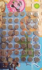 США. 48 монет по 5 центов, начиная с 1952 г. Без повторов!