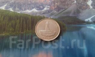 Канада. Юбилейные 25 центов 1992 г. 100-летие Конфедерации, Альберта.