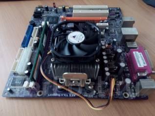 Материнская плата + процессор + оперативная память + охлаждение