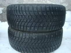Michelin X-Ice North 3. Зимние, шипованные, износ: 20%, 2 шт
