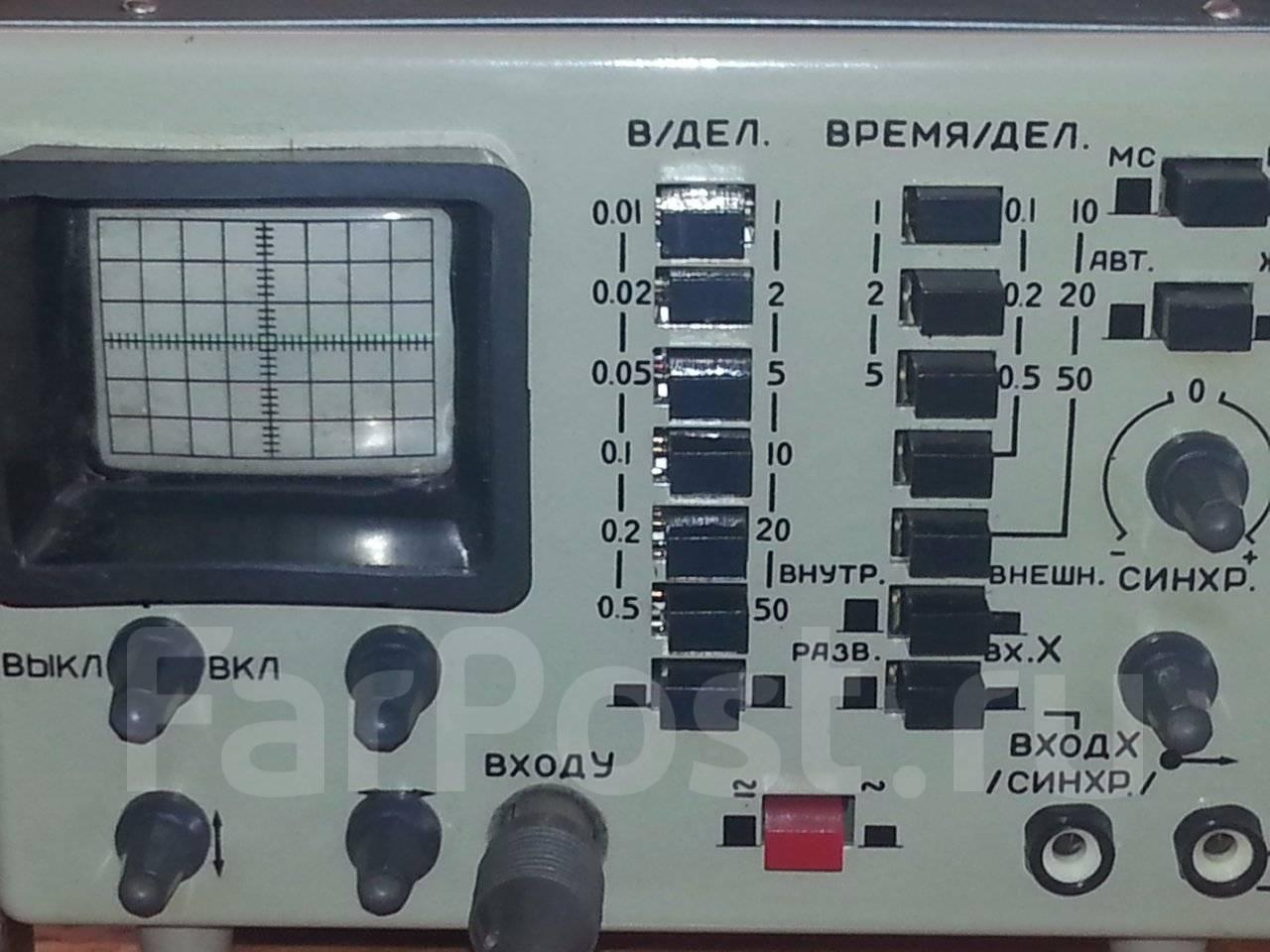 осциллограф омл-2м инструкция по применению
