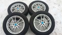 """17 Bridgestone Ecoforme 5x114.3 на зиме 215/60 R17 Bridgestone. 7.0x17 5x114.30 ET45 ЦО 73,0мм."