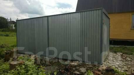 Купить железный гараж в можайске брезент купить для гаража