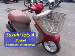 Suzuki Lets 4. 49 куб. см., исправен, без птс, без пробега