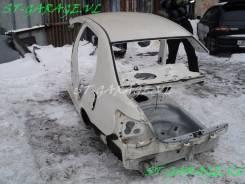 Задняя часть автомобиля. Toyota Belta