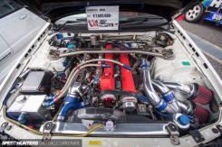 Интеркулер. Nissan Skyline GT-R, BNR34, BNR32, BCNR33 Двигатель RB26DETT