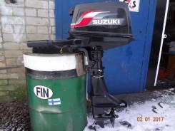Suzuki. 6,00л.с., 2х тактный, бензин, нога S (381 мм), Год: 2002 год