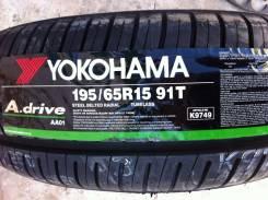 Yokohama A.Drive AA01. Летние, 2016 год, без износа, 4 шт