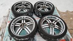 На chrysler 300C хром колеса из Японии R22 5x115!. 9.5x22 5x115.00, 5x127.00 ET15 ЦО 80,0мм.