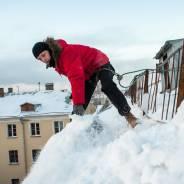 Чистка крыш от снега круглосуточно