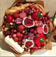 Фруктовые , мясные, рыбные букеты - К Новому году