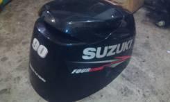 Suzuki. 90,00л.с., 4х тактный, бензин, нога X (635 мм)