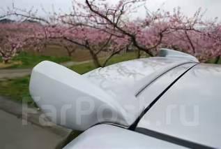 Накладка на спойлер. Toyota Corolla Fielder, NZE141G, NZE141 Двигатель 1NZFE