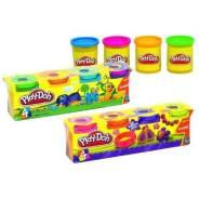Набор пластилина Play-Doh 4 баночки 448 гр. с рубля
