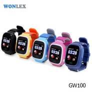 Детские умные часы-телефон Wonlex GW100 (Q80, Q90) GPS Smart Baby Watch
