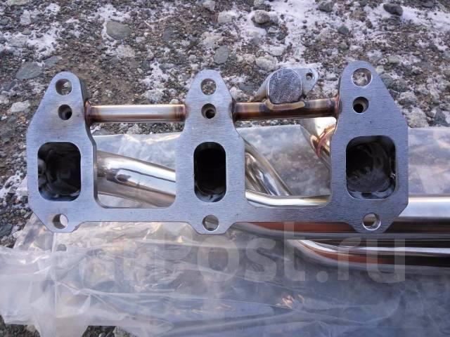 Коллектор выпускной. Mazda RX-8, SE3P Двигатель 13BMSP