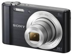 Sony Cyber-shot DSC-W810. 20 и более Мп, зум: 7х