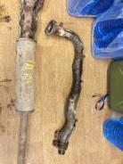 Приемная труба глушителя. Toyota Corolla, AE104G, AE104
