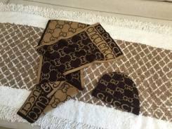 Шапка и шарф. 54, 55, 56, 57