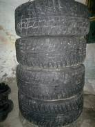 Michelin X-Ice. Зимние, шипованные, износ: 50%, 4 шт