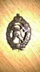 Нагрудный знак Пожарная охрана. Серебро. Мастер Эдуардъ до революции. Под заказ