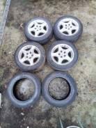 Оригинальные диски Toyota Aristo с резиной. 7.5x16 5x114.30 ET50 ЦО 60,0мм.