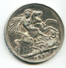 Англия крона 1893 Victoria Серебро