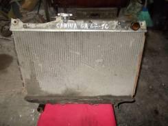 Радиатор охлаждения двигателя. Toyota Carina, CA67 Двигатель 1C