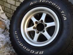 Грязевые колёса 285-75-16 на Land Cruiser 80 итд. 8.0x16 6x139.70 ET0