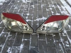 Накладка на фару. Toyota Corolla Fielder, NZE121, NZE121G