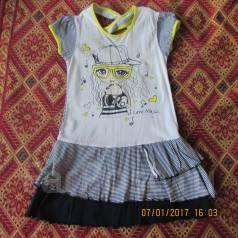 Обменяю одежду на девочку 5-7лет платья