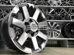 Toyota Land Cruiser Prado. 7.5x17, 6x139.70, ET15, ЦО 106,2мм.