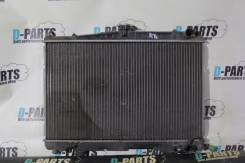 Радиатор охлаждения двигателя. Nissan Skyline Nissan Laurel Двигатель RB25DET