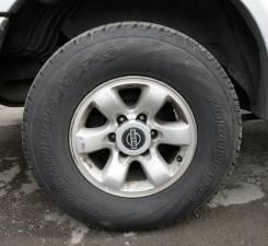 Nissan. 8.0x16, 6x139.70, ET10, ЦО 110,0мм.