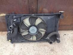 Радиатор охлаждения двигателя. Toyota Corolla Fielder, ZRE142, ZRE142G Двигатель 2ZRFE