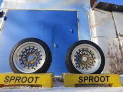 RAYS VOLK RACING. 7.5x15, 4x114.30, ET0, ЦО 73,0мм.