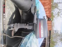 Yamaha. 4,00л.с., 2х тактный, бензин, нога S (381 мм), Год: 1996 год