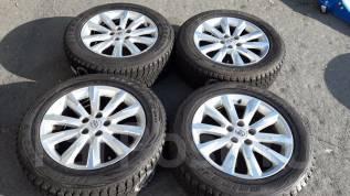 Практически новые оригинальные колеса R18 на RAV4. 7.5x18 5x114.30 ET39 ЦО 73,0мм.