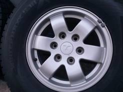 Mitsubishi Pajero. 7.0x16, 6x139.70, ET46