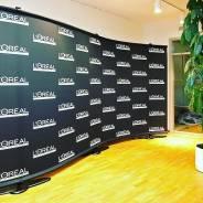 Выставочное оборудование, реклама, Press-wall